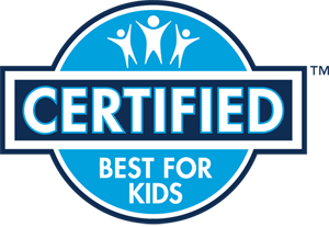 Best For Kids Certification label