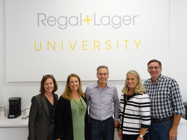 Commissioner Buerkle and representatives from Regal Lager