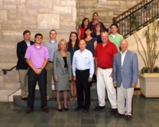 Commissioner Robinson in August 2014 at St. Louis university, Center for Supply Chain Management with the gradating class from the Product Safety Management Course.